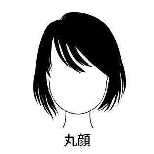 丸顔タイプ