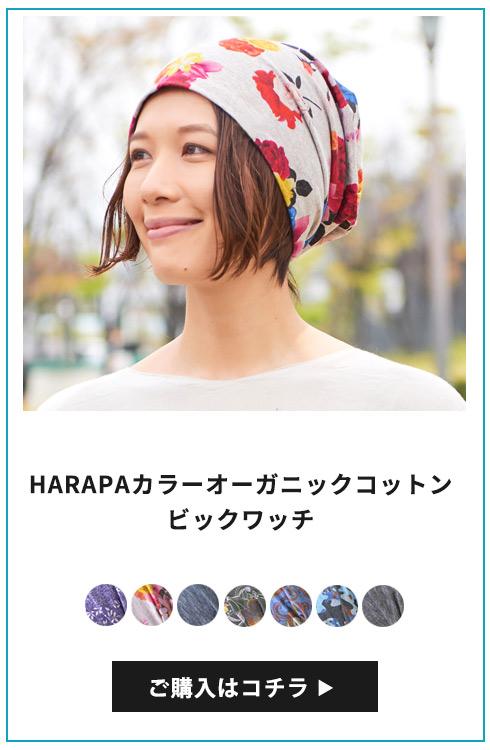 HARAPA カラーオーガニックコットンビックワッチ